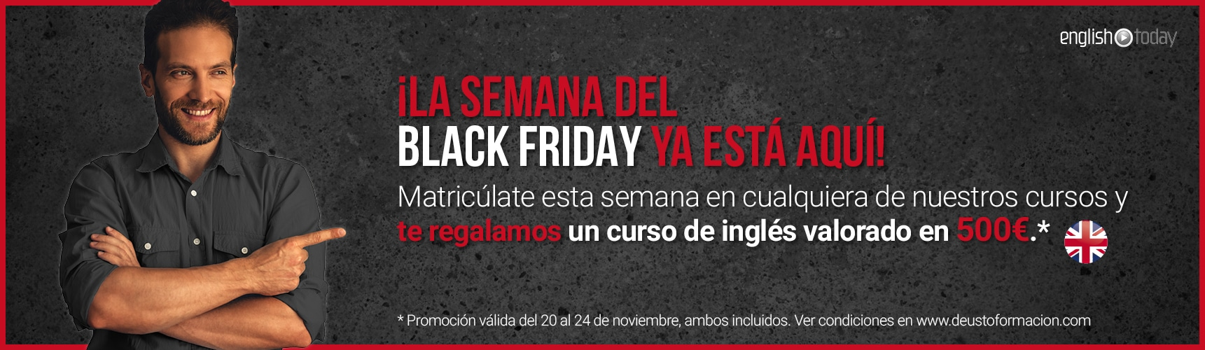 Promoción Black Friday
