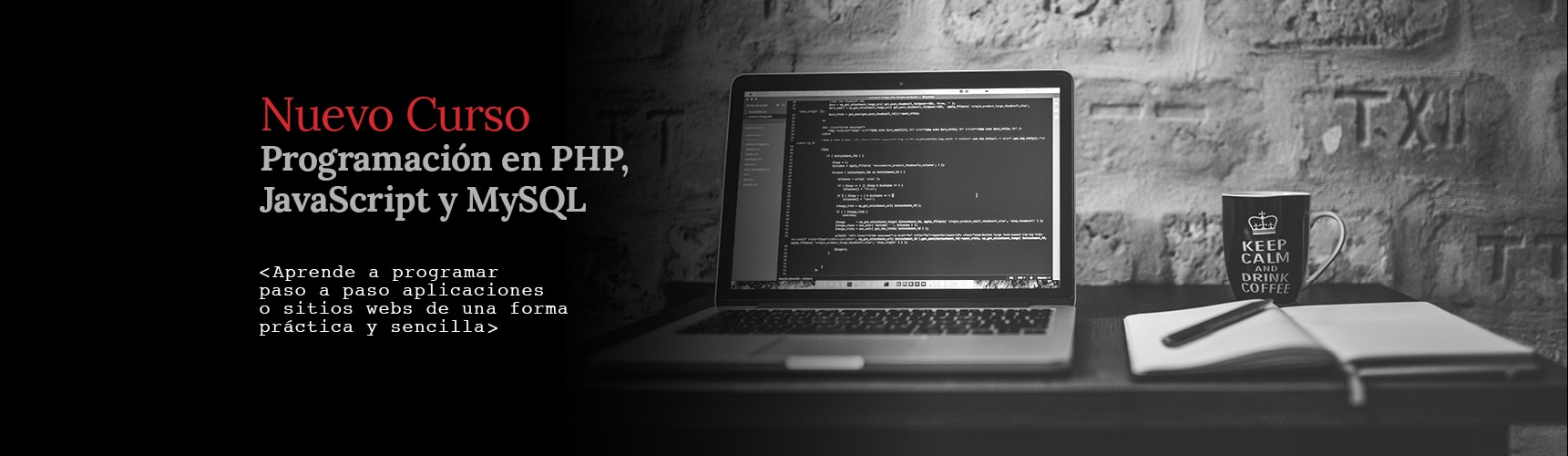 Curso de Programación en PHP, Javascript y MySQL