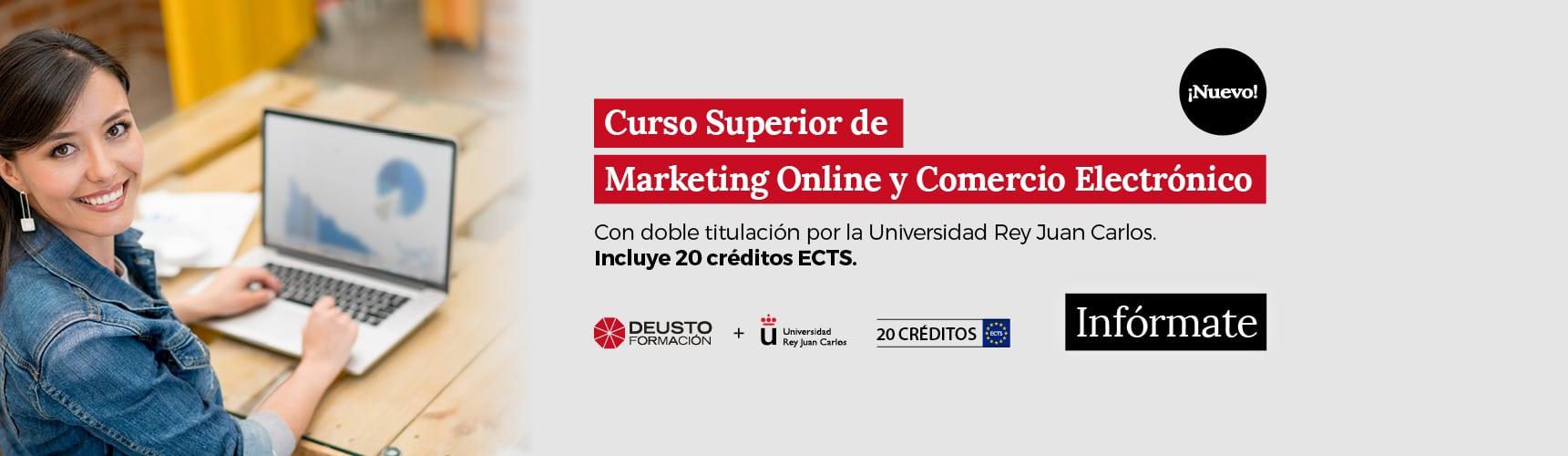 Curso Superior de Marketing Online y Comercio Electrónico